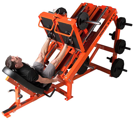Uni-lateral and Bi-lateral Leg Press