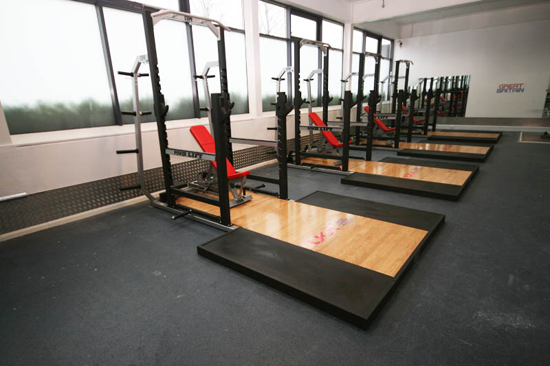 Uk Athletics Strength And Conditioning Facility Picketts